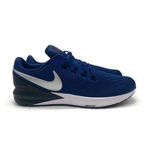 Nike Air Zoom Structure 22 Mens Blue White Shoe